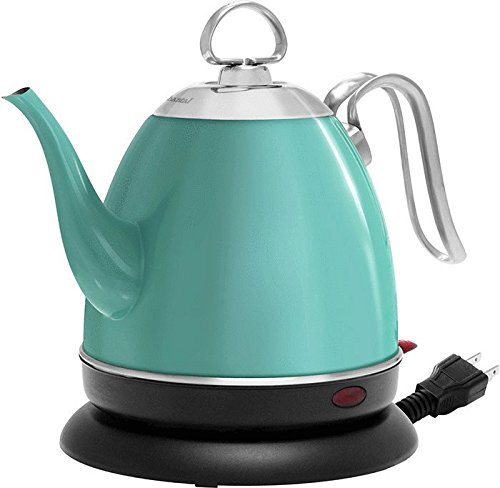 Chantal ELSL37-03M AQ Mia Ekettle Electric Kettle, 32 oz, Aqua