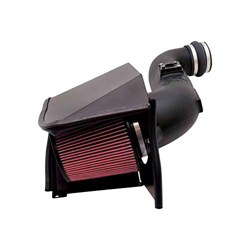 - K&N Performance Cold Air Intake Kit 57-3058 with Lifetime Filter for 2007-2008 Chevrolet GMC Cadillac 4.8L