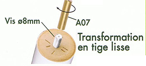 Nancunhuo Forcella Anteriore in Lega di Scooter Forcella Anteriore in Lega di Alluminio sostituita Compatibile con Accessorio Scooter Elettrico Xiaomi Mijia M365