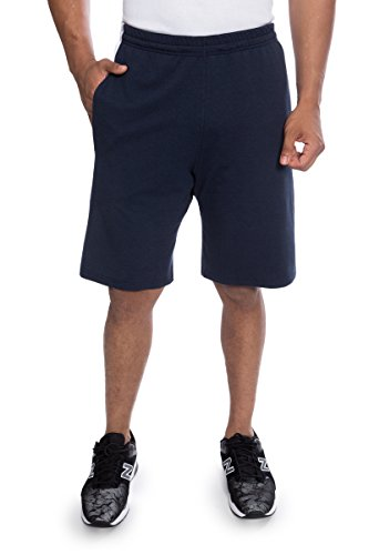 Texeresilk Texere Mens Athletic Shorts With Pockets  Midnight Blue  X Large  All Season Gym Shorts For Nephew Uncle Grandpa Cousin Tx Mb131 002 Mnbu R Xl