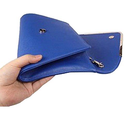Paquete Del Ocio De La Palabra De V Bolso High-end De La Cena Blue