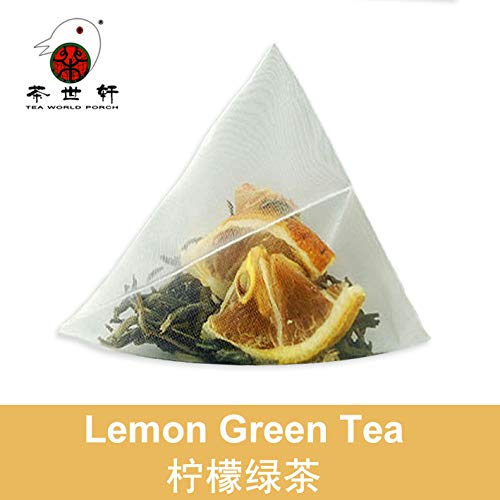 3g X 10pcs Lemon Green Tea Whitening, Supplement Vitamin C, Mixed Fruit Tea, Beauty, Health, Scented Tea