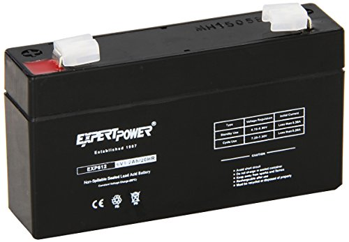 ExpertPower EXP612 1 2 Rechargeable Battery