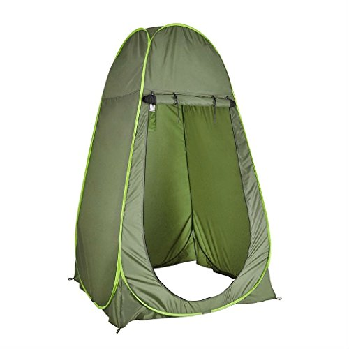 4 Person Portable Camping Hiking Pop Up Tent Shelter Outdoor Shower Bathroom by Unbranded*