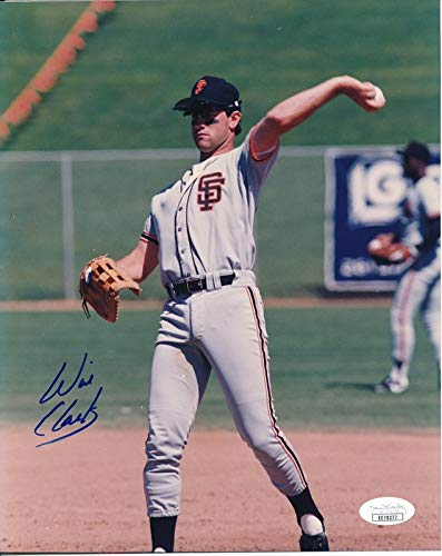 Will Clark San Francisco Giants Signed/Autographed 8x10 Photo JSA 144339