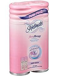 Skintimate DrySkin Shave Gel for Women, 7 oz, 2pk.