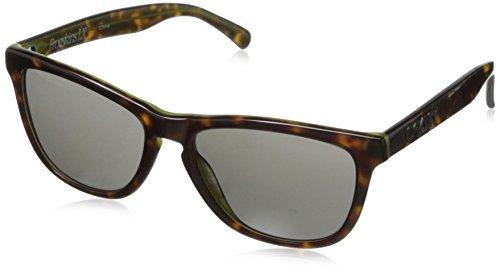 Oakley Men's Frogskins LX Round Eyeglasses,Tortoise & Green,56 - Oakley Frogskins Brown
