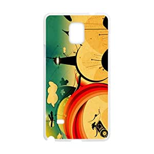 SVF Creative Tower Graffiti Custom Protective Hard Phone Cae For Samsung Galaxy Note4