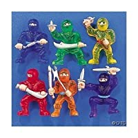 Fun Express - 48-pc Toy Ninja Warriors