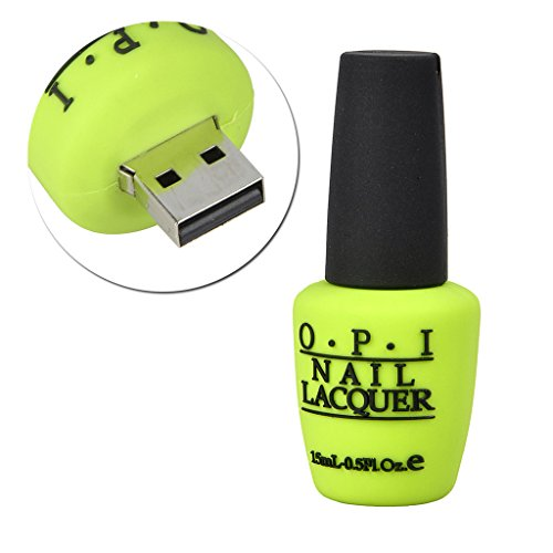 Sunworld 8GB 16GB 32GB 64GB USB 2.0 & USB 3.0 Flash Drive Novelty Nail Polish Bottle Shape Memory Stick Gift USA Rose Blue Green Purple
