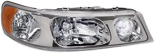 Amazon Com Headlightsdepot Compatible With Lincoln Towncar Headlight Headlamp Replacement Passenger Side New Automotive