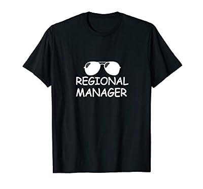 Regional Manager Office Funny Tshirt | Regional T-shirts