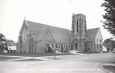 D7803 MN, Fairmont Lutheran Church Photo Postcard