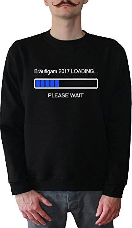 Mister Merchandise męski sweter z kapturem Pan młody 2017 Loading sweter sweter z nadrukowanym: Odzież