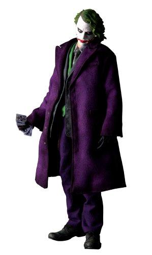 "Batman The Dark Knight Movie Medicom 12 Inch Real Action Heroes Joker ""Why So Serious"""
