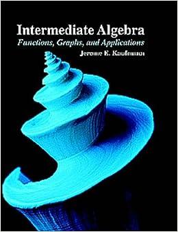 Intermdte Algebra Func