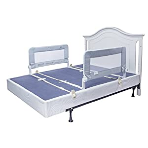 Toddler Bed Rail Guard for Convertible Crib, Kids Twin, Double, Full Size Queen & King