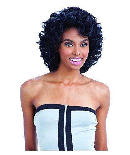 SAGA 100% Remy Human Hair Lace Front Wig - APOLLO (2 - Drk Brn)