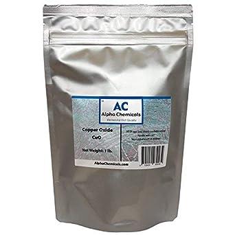 Black Copper Oxide - Cupric Oxide - CuO - 1 Pound