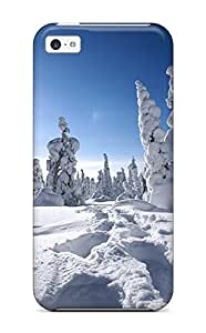 For Iphone 5c Premium Tpu Case Cover Winter In Finland Protective Case