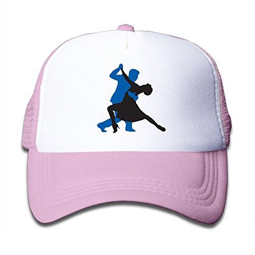 (NO4LRM Kid's Boys Girls Dance Youth Mesh Baseball Cap Summer Adjustable Trucker)