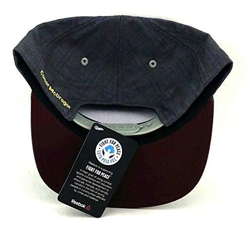411407516ce32f SHOPUS | Reebok Conor McGregor Plaid Snapback Hat