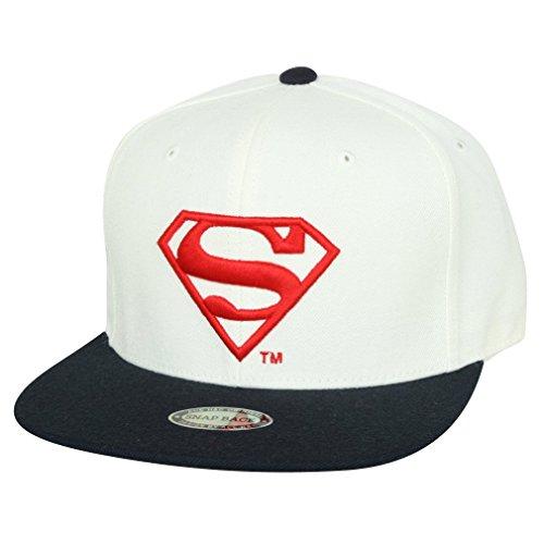 ililily Superman Shield Embroidery New era with Adjustable Strap Trucker Hat (ballcap_621_2)