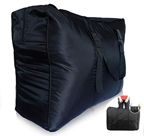 (Plago Nylon Large-Capacity Travel Duffel Bag Waterproof Luggage Sport Blanket Storage VariousPurposes 4Sizes (XXL(173-Liter)))