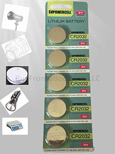 Generic Cr2032 Br2032 2032 3V Lithium Batteries 20 Pcs 4 Cards