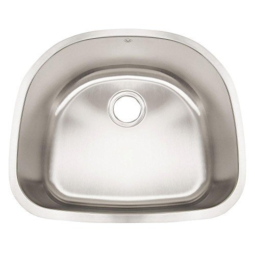 Artisan AR2321D9-D 23 1/2 X 9 X 19 Standard D-bowl Undermount 16 Gauge Kitchen Sink by Your Other Warehouse by Your Other Warehouse