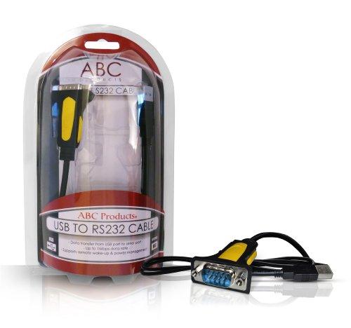 AMERICAN BABY COMPANY (ABC) USB to 9 Pin DB9 / Serial / R...