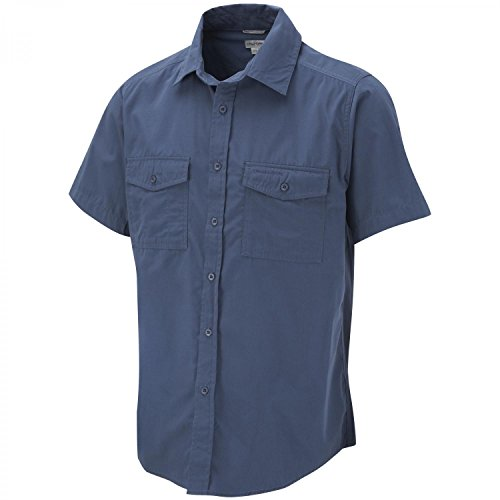 Craghoppers Men's Kiwi Short Sleeve Shirt, Faded Indigo, X-Large from Craghoppers