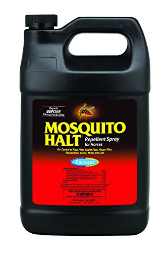 Farnam Mosquito Halt Repellant Spray for Horses, 1 gallon