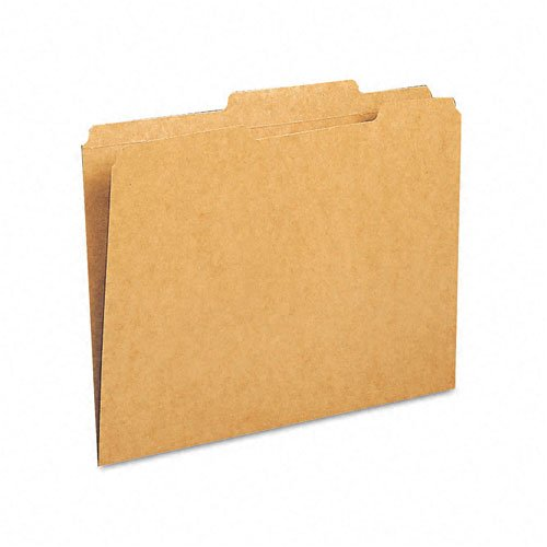 Smead : Kraft File Folders, 2/5 Cut Right of Center, 2-Ply Top Tab, Letter, BN, 100/Box -:- Sold as 2 Packs of - 1 - / - Total of 2 Each