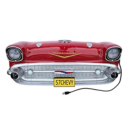 Amazon.com: Chevrolet 1957 Bel Air Front End Wall Decor with ...