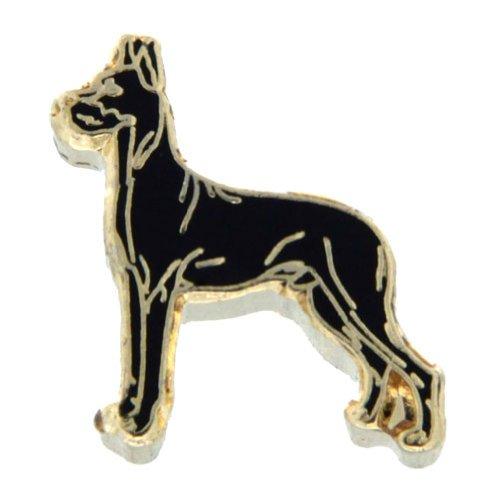 (Great Dane Dog Floating Locket Charm)