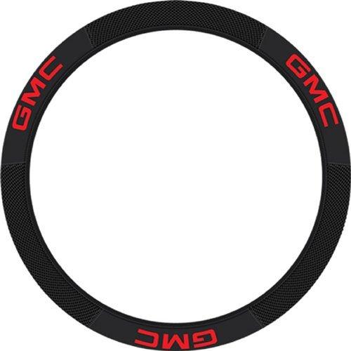GMC Elite Black Car Truck Steering Wheel Cover Universal Fit