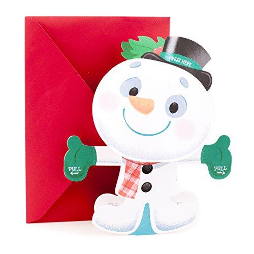 Hallmark Holiday Greeting Huggable Snowman product image