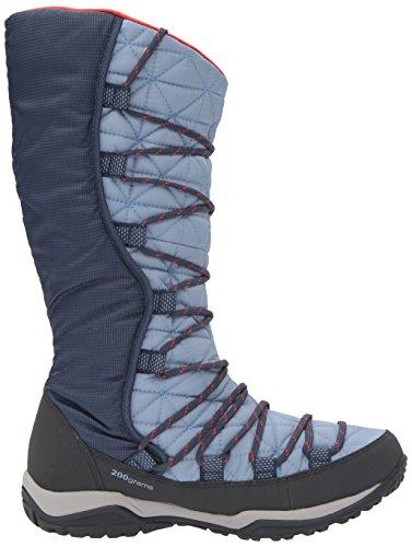 Columbia Loveland Omni-Heat, Botas de Nieve Para Mujer Azul (Dark Mirage, Spicy 411Dark Mirage, Spicy 411)