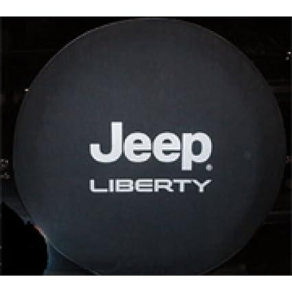 2002 2005 Jeep Liberty Cloth Spare Tire Cover, Cloth   Black Denim Mopar  Part