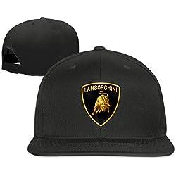 ABSOP Lamborghini Logo Adjustable Plain Hat