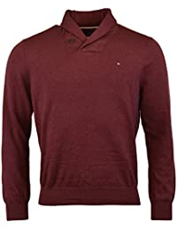 Mens Premium Cotton Shawl Neck Sweater