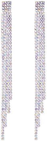 FOCALOOK Wedding Sparkling Rhinestone Earrings product image