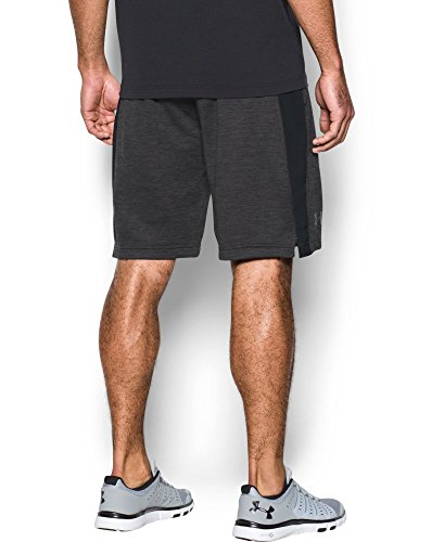 Under Armour Men's Tech Terry Shorts, Carbon Heather (090)/Silver, Small by Under Armour (Image #1)