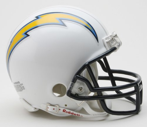 NFL San Diego Chargers Replica Mini Football Helmet