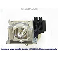 WL6700U Mitsubishi Projector Lamp Replacement. Projector Lamp Assembly with Genuine Original Ushio Bulb Inside.