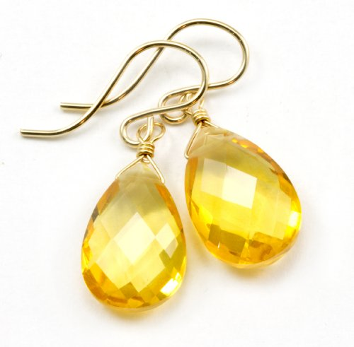 14k Gold Filled Simulated Citr