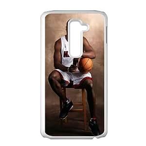 LG G2 Cell Phone Case White Dwyane Wade Miami Heat Watxt