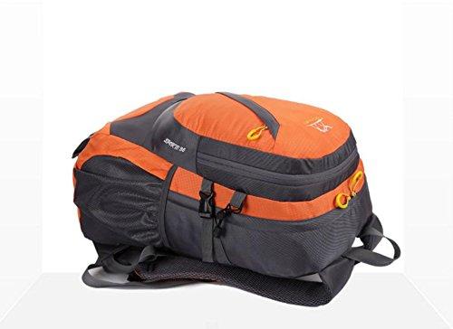 HCLHWYDHCLHWYD-montar al aire libre del alpinismo mochila bolsa de hombres y mujeres viajan mochila 35L bolsa de deporte mochila , 1 5