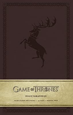 Game of Thrones: House Baratheon Hardcover Ruled Journal (Large) (2014-04-22)
